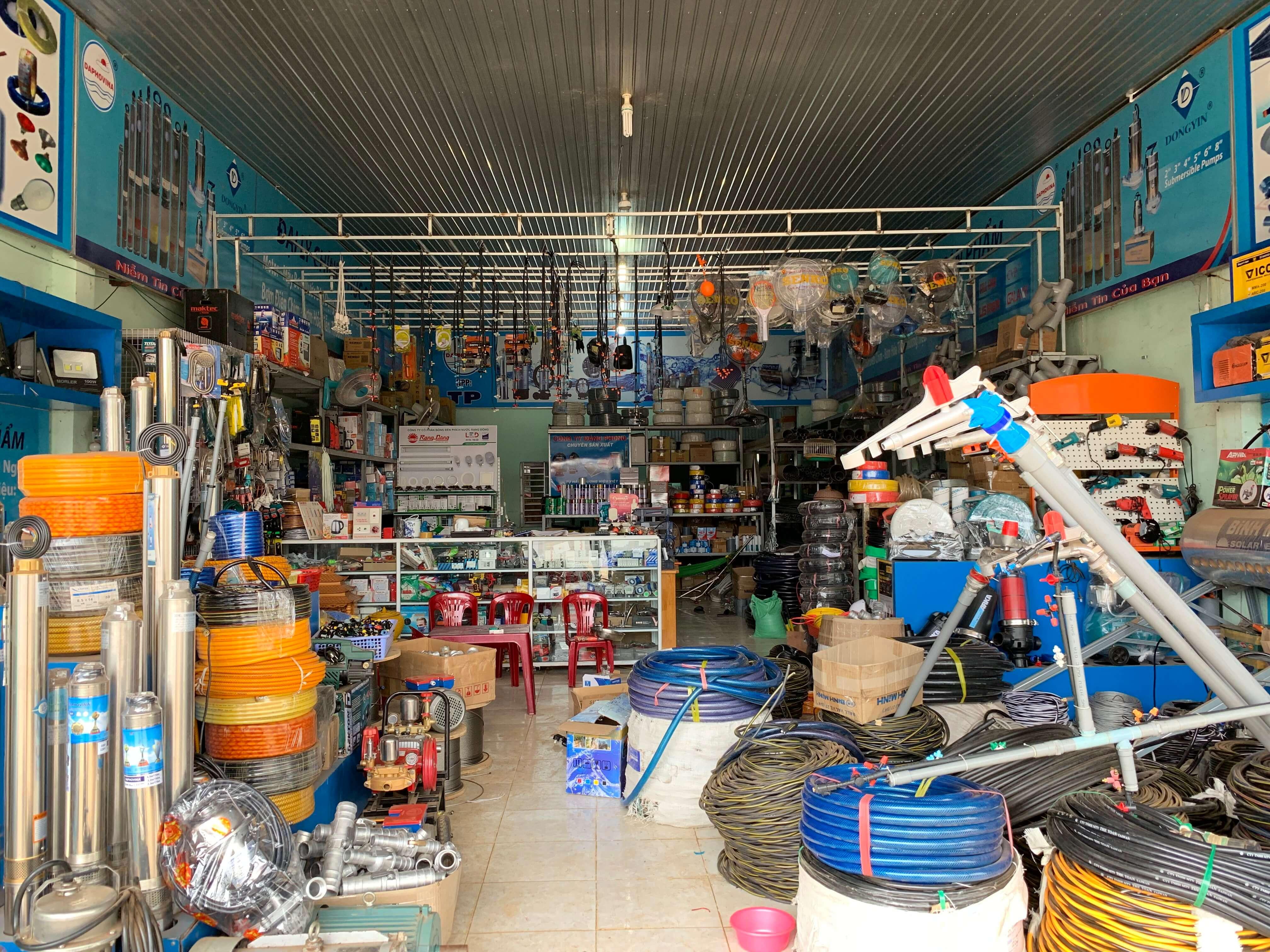cửa hàng điện nước thủy phượng đắk nông