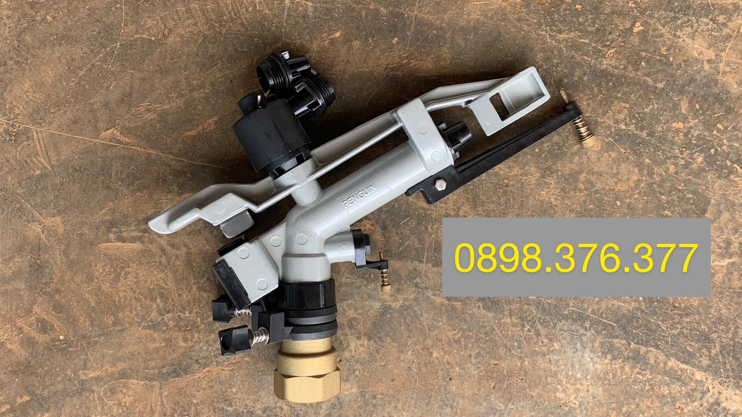 Béc AQ40 súng tưới phun mưa nhập khẩu ấn độ, bán kính phun 25 mét