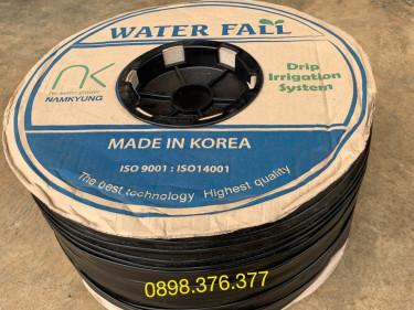Ống nhỏ giọt WQ20 - Tưới nhỏ giọt Namkyung – Hàn Quốc, Ø16mm, dày 0.15mm, khoảng cách lỗ 20cm