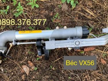 Béc VX56 - Béc súng tưới phun mưa có thể điều chỉnh tốc độ quay, độ lớn của hạt mưa, ít bị cản gió