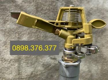 Béc X817 - Béc tưới phun mưa bằng đồng bán kính 8 mét có thể điều chỉnh bán kính tưới